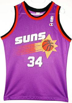Champion NBA Basketball Phoenix Suns #34 Charles Barkley Trikot/Jersey Size 36 - Größe S - 69,90€ #nba #basketball #trikot #jersey #ebay #sport #fitness #fanartikel #merchandise #usa #america #fashion #mode #collectable #memorabilia #allbigeverything
