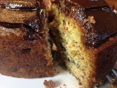"Banana Bread Bundt Cake with Chocolate Glaze: ""Breakfast for Dinner"" on http://asianinamericamag.com"
