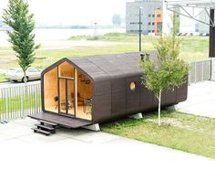 Wikkelhouse by Fiction Factory. Amsterdam The Netherlands #interiors #interiordesign #architecture #decoration #interior #home #design #photogrid #bookofcabins #homedecor #decoration #decor #prefab #smallhomes #instagood #compactliving #fineinteriors #cabin #tagsforlikes #tinyhomes #tinyhouse #like4like #FABprefab #tinyhousemovement #likeforlike #houseboat #tinyhouzz #container #containerhouse by tinyhouzz