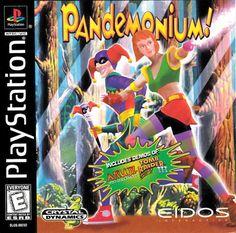 Pandemonium - (PS1) #retrogaming #playstation