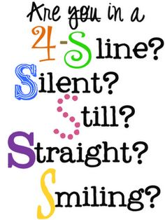 Oh we soooo need this!  These kids still don't know what a line should look like!