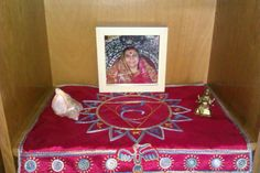 Small altar cloth, embroidery on silk Altar Cloth, Elf, Embroidery, Frame, Handmade, Home Decor, Picture Frame, Needlepoint, Hand Made