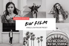 Black and White Film Preset by Persnickety Prints on Photoshop Tutorial, Photoshop Actions, Order Prints Online, Dslr Photography Tips, Professional Photo Lab, Life Photo, Lightroom Presets, Photo Book, Instagram Feed