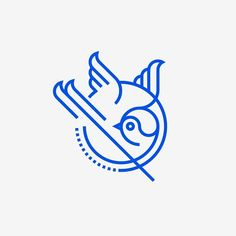 Bird by Sander Legrand. #bird #logo #identity #branding #icon