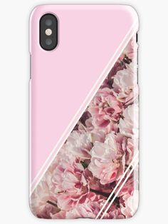 Candy pink flower design with a unique modern look. • Also buy this artwork on phone cases, stickers, and stationery. #phonecase