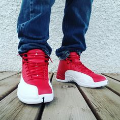 Check out the video on these Jordan Retro 12 #airjordan #jordan12 #retro12 #gymred #2016release