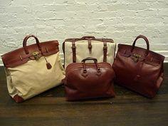 Hermes travel bags