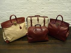 Hermes travel bags