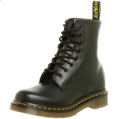 Dr. Martens Women's 1460 Originals Eight-Eye Lace-Up Boot,Black Smooth Leather,5 UK (7 M US Womens). Read more about the product on the website.