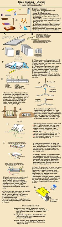 Book Tutorial pg 1 by *warrioronlydude on deviantART - book tapes.