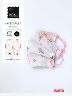 Cómo coser fácilmente una mascarilla de tela  😷 Mascarilla Diy, Diy Tutorial, Lana, Sewing, Blog, Fabric, How To Make, Handmade, Crafts