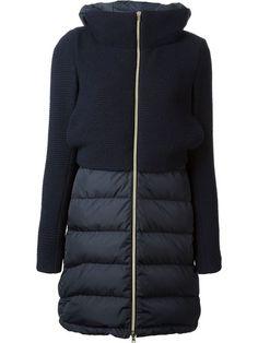 Shop Herno panelled coat