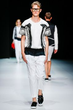 Andrea Pompilio | Spring 2014 Menswear Collection | Style.com