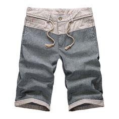 2016 New Fashion Summer Casual short Patchwork Mens Shorts Pantalones Cortos Hombre Denim Men Cargo Shorts 13M0611