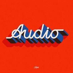 WEBSTA @champolatype Audio process (swipe ) . . -