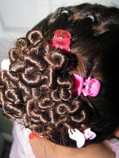 Worms #hair #hairdos #hairstyle Teen / Hairstylesbymommy / Cute Hairstyle