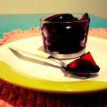 Gelatina do chá de hibisco é rica em benefícios