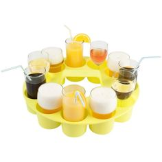Drink Serving Tray... makes it much easier to grab 10 beers!
