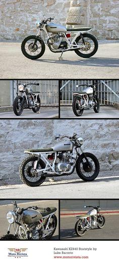 35 Best KZ440 images Custom bikes, Custom motorcycles, Vintage