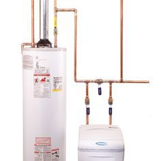 The plumbing hookups on a water softener can be confusing, but we'll show you how the connections should be made. You don't have to be a plumber to connect a water softener. We make it easy to understand even for a beginning DIYer.