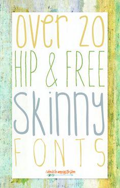 Free Skinny Fonts - Fonts - Ideas of Fonts - Free Skinny Fonts New Free Fonts, New Fonts, Calligraphy Fonts, Typography Fonts, Calligraphy Alphabet, Islamic Calligraphy, Fancy Fonts, Cool Fonts, Thin Fonts