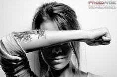 My #tattoo. #Tree #triangle #geometric #arrow #ink