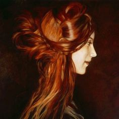 Can anyone tell I love long hair styles?  I am going to grow my hair long.  I have never had it LONG.  I think this is my inspiration; red long hair.