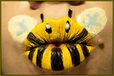 Bees!  i could never pull this off but it still looks cool