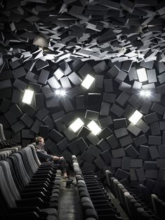 Exploded cinema in Wuhan, China, by One Plus Partnership