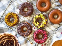 Healthy Gluten-Free Baked Donuts