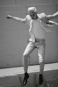 Jumping Lucky Blue Smith