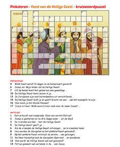 Kruiswoordpuzzel - Pinksteren [bijbelidee.nl]