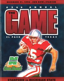1996 Sun Bowl Game Recap   Stanford vs. Michigan State #ItsAllGoodEP