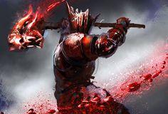 Blood Hammer, Conor Burke on ArtStation at http://www.artstation.com/artwork/blood-hammer