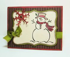 Top Note Frosty by stephanie.hargis - Cards and Paper Crafts at Splitcoaststampers