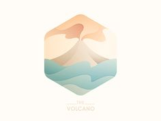 Volcano Illustration by Yoga Perdana