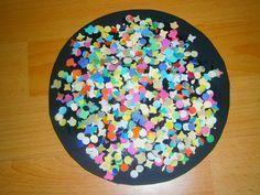 Zauberhafte Basteleien: Das KONFETTIBILD extra für Kleinkinder zum Faschin...