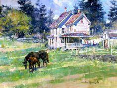Maine Farm by John Michael Carter