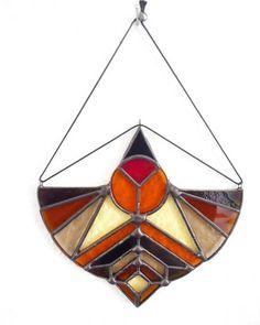 Stained Glass Suncatchers, Stained Glass Projects, Stained Glass Patterns, Stained Glass Art, Stained Glass Windows, Window Hanging, Tiffany Glass, Glass Wall Art, Mirror Art