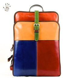 Passionate about luxury bags, we offer only those brands & products that our customers will be proud to own. Unique timeless classics that exude style and quality. Leather Handle, Leather Bag, Colorful Backpacks, Tartan Fabric, Popular Bags, Vegetable Tanned Leather, Luxury Bags, Italian Leather, Leather Backpacks