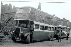 Stanier's buses, Stoke-on-Trent. Stanier's main service was from Tunstall to Mow Cop church.