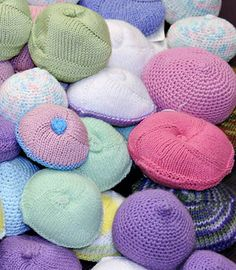 I can't believe I am pinning a pattern for a prosthetic breast... Anyways, apparently they are a great alternative to silicon. If you know anyone may need one the pattern is free and the company donates them  if you aren't a crocheter or knitter.