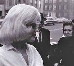 Marilyn Monroe photographed by David Nimz, 1961.