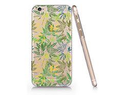 Cannabis Weed Leaves Slim Iphone 6 6S Case, Clear Iphone 6 6S Hard Cover Case For Apple Iphone 6 /6S -Emerishop (VAE022.6sl) Emerishop
