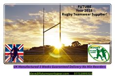 2018 Rugby Kits! Excuses from your suppliers! late delivery/poor quality/no small reorders etc 😡 Discover a Professional/honest company #guaranteed 🇬🇧🏉✅