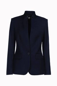 A Stella Navy Blazer perfect for the minimal dressing look.