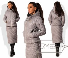 View album on Yandex. Winter Suit, Winter Wear, Down Puffer Coat, Fashion 2017, Womens Fashion, Recycled Fashion, Snow Suit, High End Fashion, Quilted Jacket