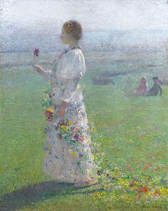 Henri Martin ~ Post-Impressionist painter