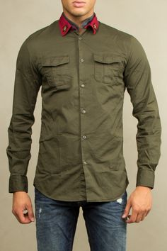 Dsquared camicia Dsquared shirt Dsquared military shirt