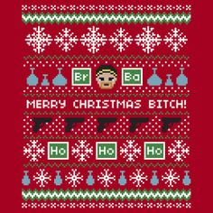If I were a whizz with the knitting needles, I could turn this into a chart and make Daughter the Christmas jumper she so dearly wants...